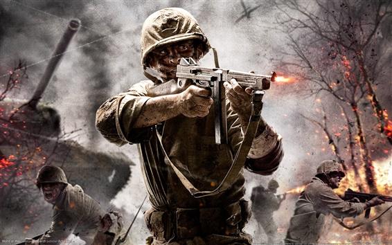 Wallpaper Call of Duty: World at War