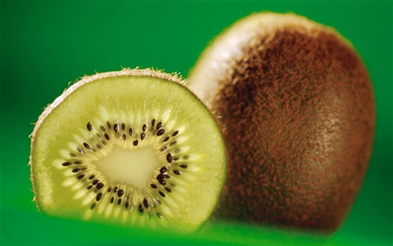 Wallpaper Kiwi fruit close-up