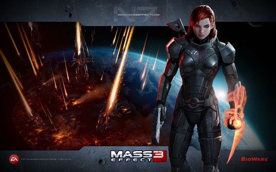 Обои Mass Effect 3 HD