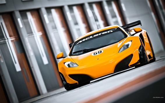 Fond d'écran McLaren MP4-12C GT3 2011
