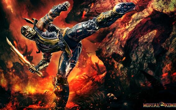 Fond d'écran Mortal Kombat