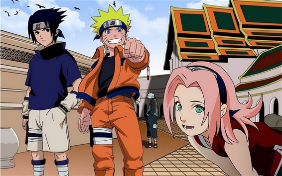 Fond d'écran Naruto