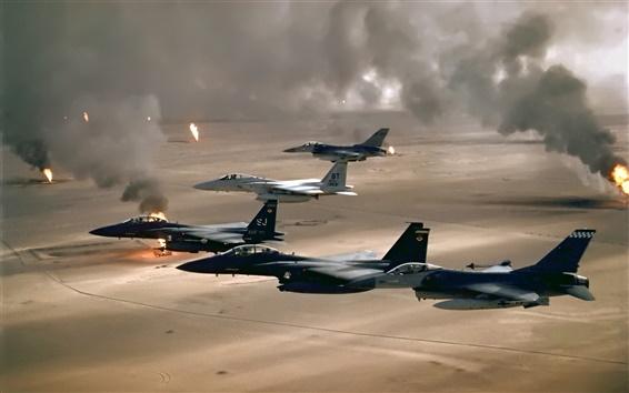Wallpaper Operation Desert Storm War