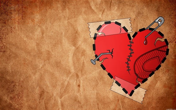 Wallpaper Picture heart background