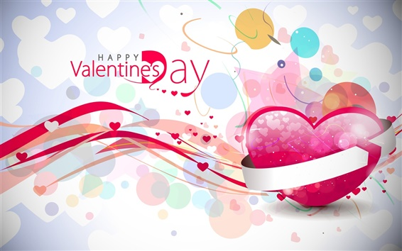 Wallpaper Pink Valentine's Day