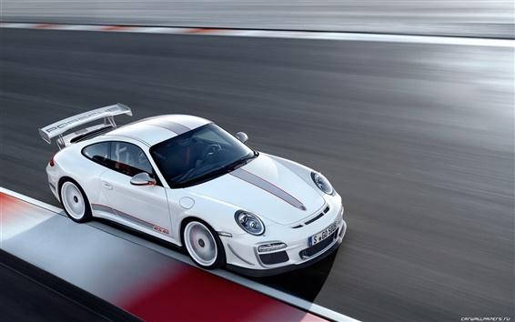 배경 화면 포르쉐 911 GT3 RS 4.0 2011