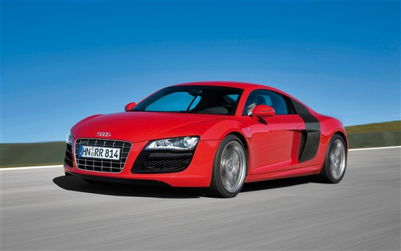 Wallpaper Red Audi