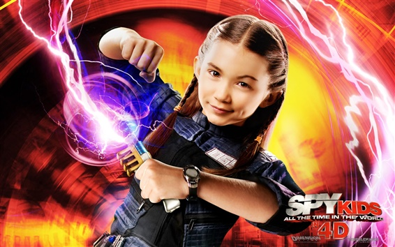 Wallpaper Rowan Blanchard in Spy Kids: All the Time in the World