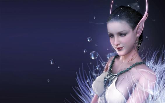 Fond d'écran White Girl Elf vêtements