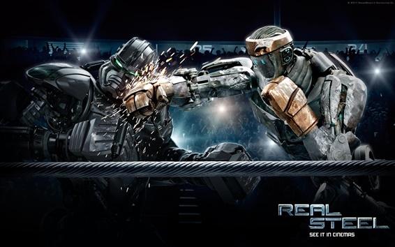 Papéis de Parede 2011 Real Steel