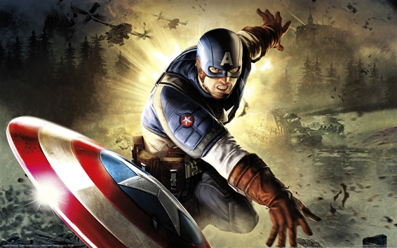 Wallpaper Captain America: Super Soldier
