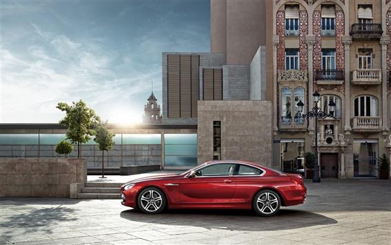 Обои Город автомобиля BMW автомобилей