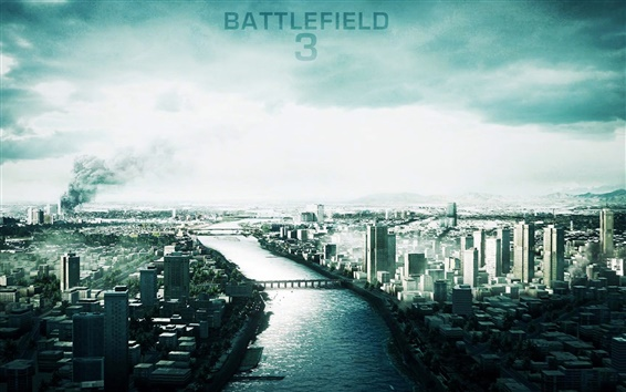 Hintergrundbilder City of Battlefield 3