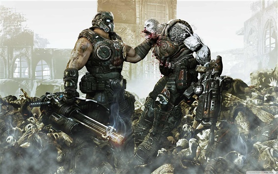 Fond d'écran Gears of War 3 HD