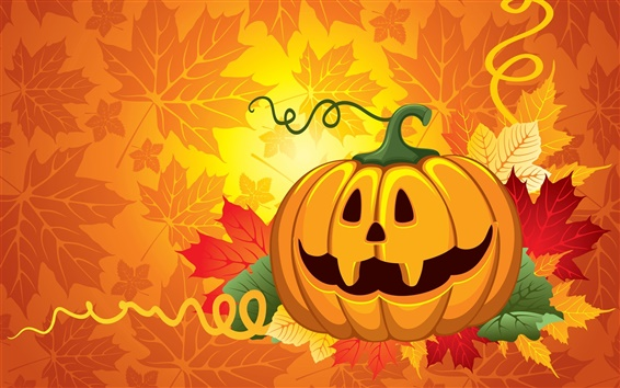 Wallpaper Halloween vector design