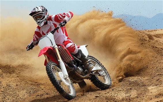 Wallpaper Honda Motorcycle CRF450R