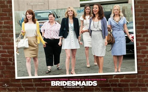 Fondos de pantalla Kristen Wiig de damas de honor