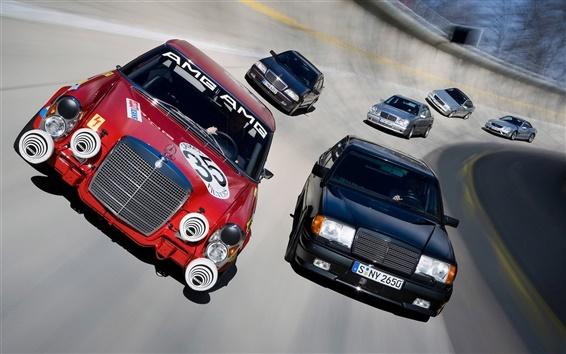 Обои Гонки автомобилей отслеживать скорость
