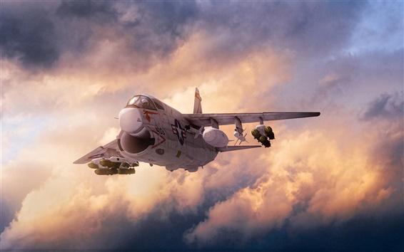 Обои Sky бомбардировщик