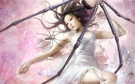 Wallpaper Spider-girl fantasy