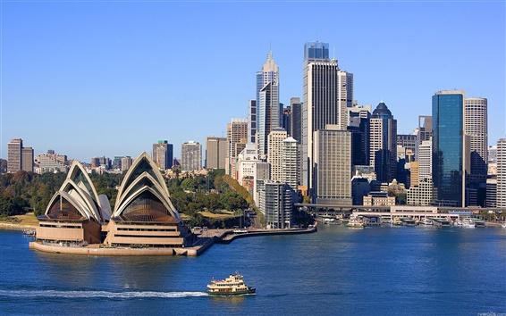 Papéis de Parede Sydney mar casa