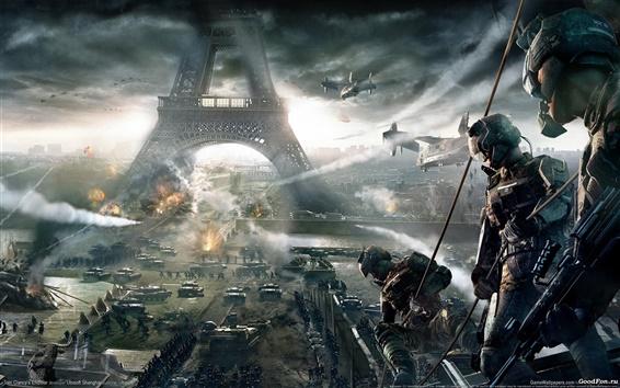 Wallpaper Tom Clancy's Endwar at Paris
