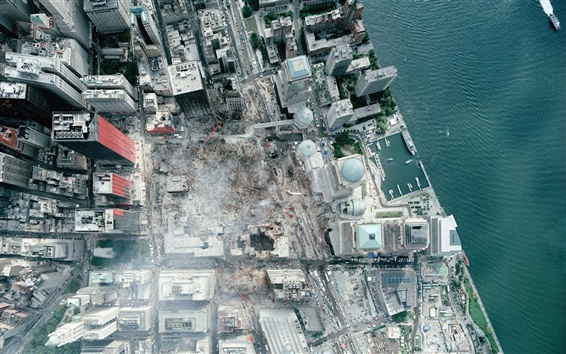 Wallpaper Very High Definition Satellite WTC Photo