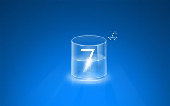Wallpaper Windows 7 glass