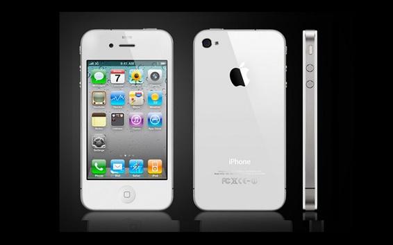 壁紙 iPhone4Sホワイト
