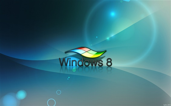 Wallpaper 3D effects of Windows 8