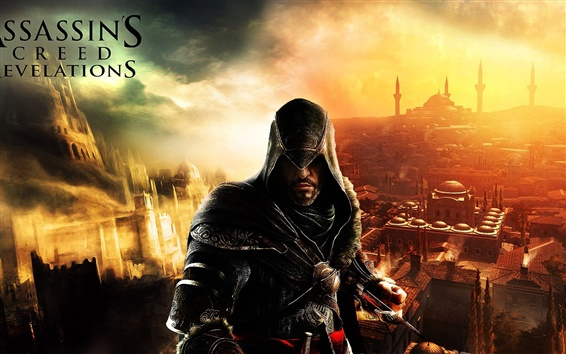Wallpaper Action game Assassin's Creed: Revelations