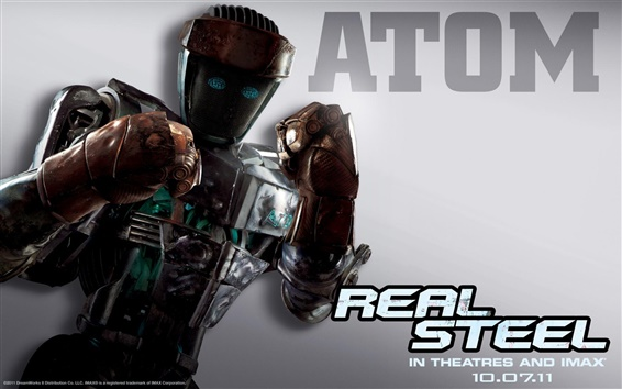 Wallpaper Atom in Real Steel