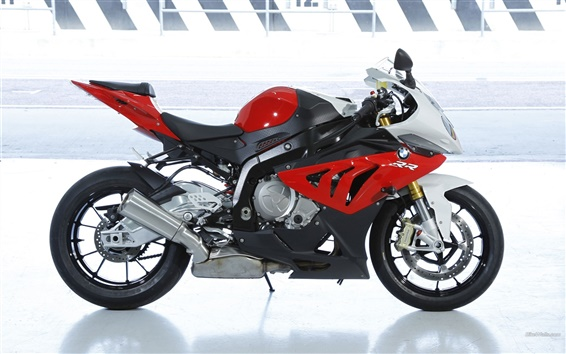 Wallpaper BMW S 1000 RR motorcycle 2012