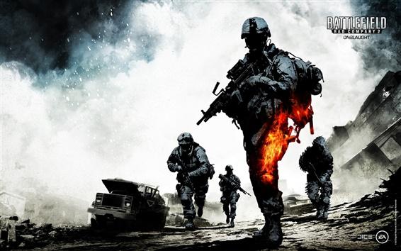 Fond d'écran Battlefield: Bad Company 2