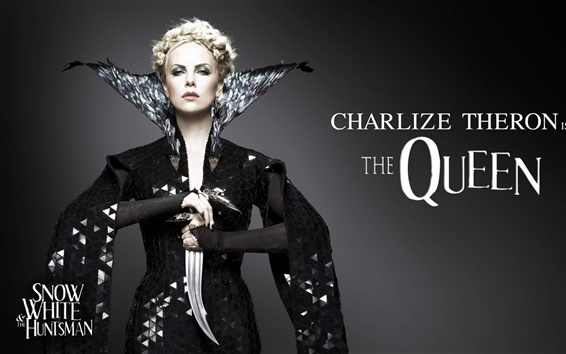 Wallpaper Charlize Theron in Snow White and the Huntsman
