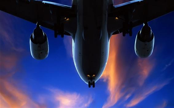 Fondos de pantalla Cerca de aire de aviones