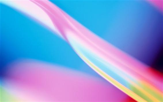 Fondos de pantalla De color rosa, azul, abstracto