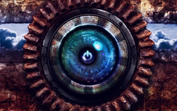 Papéis de Parede Eye criativo