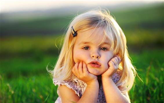 Wallpaper Cute Baby Girl