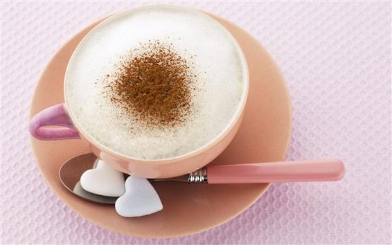 Fond d'écran Délicieux thé du matin