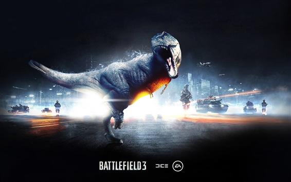 Fondos de pantalla Dinosaurio en Battlefield 3