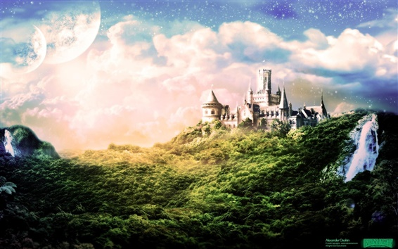 Wallpaper Dream Castle