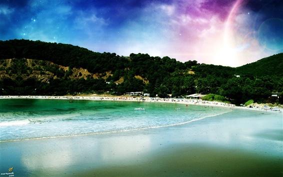 Wallpaper Dream beach