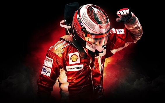 Wallpaper F1 Racer