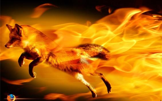 Wallpaper Firefox abstract