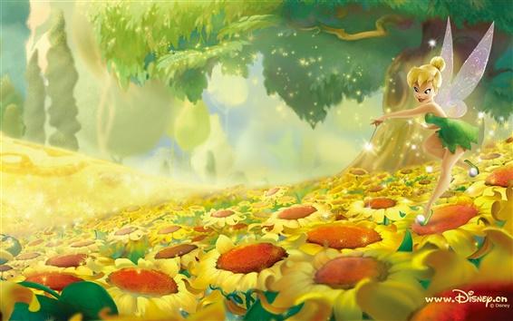 壁紙 花の妖精