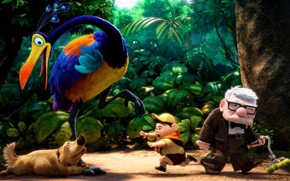 Papéis de Parede voando Pixar