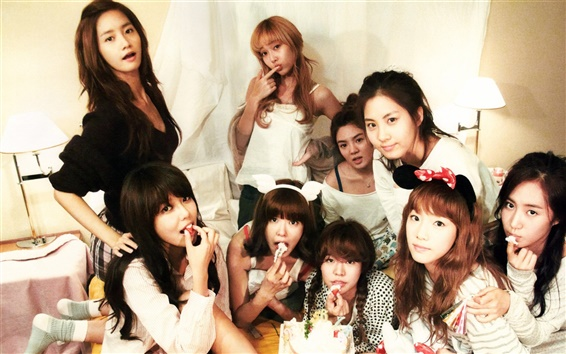 Fond d'écran Girls Generation 46