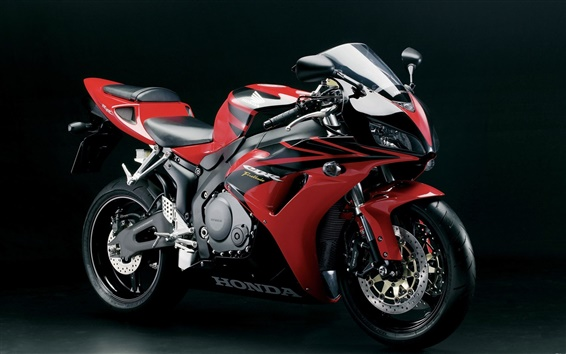 Papéis de Parede Motocicletas Honda sportbike