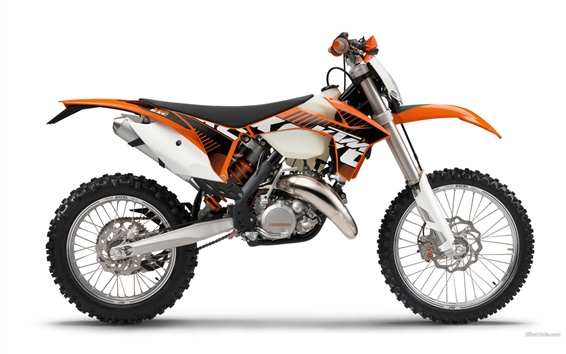Wallpaper KTM Offroad 125 EXC motorcycle 2012